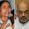 Amit Shah's road show marred by violence leading to a war of words between BJP and TMC