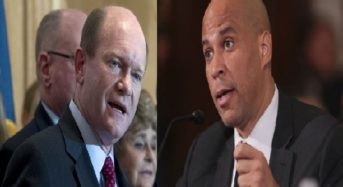 Cory Booker and Chris Coons Bill Is Blocked