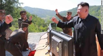 North Korea test-launches new tactical weapon. South feeling threat
