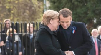 World leaders have honored the WW1 fallen soldiers in France