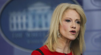 Kellyanne Conway responds to Donald Trump calling her husband 'Mr. Kellyanne Conway'