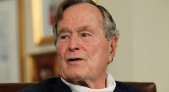 41st President George H. W. Bush dies at Houston Home. He was 94