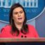 Sarah Sanders believes God wanted Trump to become president