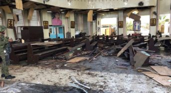 BREAKING: Twin blasts at Roman Catholic cathedral kills 20 in Philippines