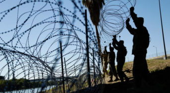 Additional troops to be sent on southern border to install wire barriers
