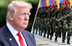 Trump warns Venezuelan army of risking future if aid not allowed in the country