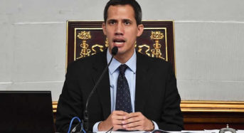 Venezuelan air force head throws support for opposition leader Guaido