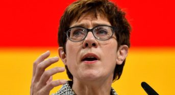 New CDU Chief Speaks About Migration And Refugee Crisis