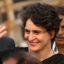 Priyanka Gandhi Begins Massive Rally In Lucknow