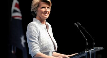Julie Bishop Speaks About Women In Australian Politics