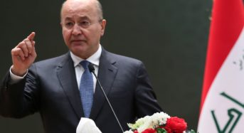 Barham Salih Says Iraq Cannot Be Used As Military Base