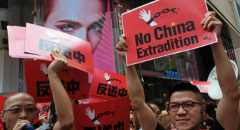 Hong Kong sees massive protests over new China extradition law