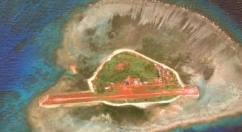 Philippines diplomatically protests Chinese vessels around Thitu island