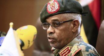Within 36 hours of Bashir toppling coup leader Ibn Auf steps down in Sudan