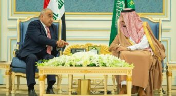 Adel Abdul Mahdi Visits Saudi Arabia To Sign Important Agreement