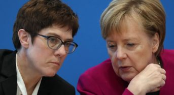 Angela Merkel Will Not Campaign At European Elections