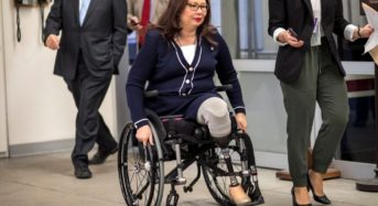 Tammy Duckworth Visits Iraq To Show Support