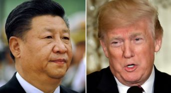 Global financial market plunges southward with Trump's threat to China
