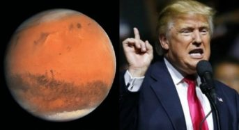 Mars will soon be invaded: Trump