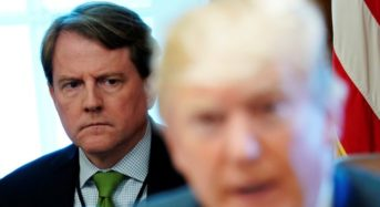 Mcgahn Declined A Request From The White House To Say Trump Did Not Obstruct Justice
