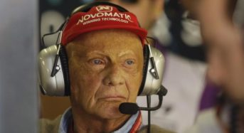 Niki Lauda, legendary three-time Formula 1 champion dies at 70.