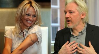 Pamela Anderson describes Julian Assange as innocent man