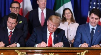 Canada To Sign Important Trade Agreement With U.S. And Mexico