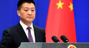 China Strongly Condemns U.S. For Taiwan Meeting